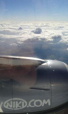 hoch über den Wolken....