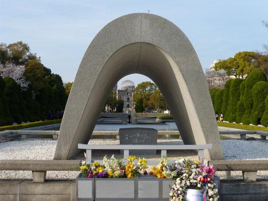 Der Zenotaph im Friedenspark