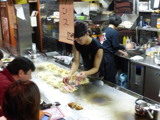 Okonomiyaki-Kneipe