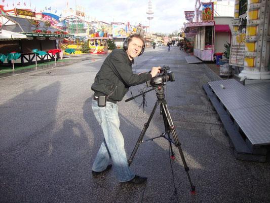 Stefan Brosch an der Kamera