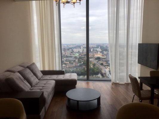 "ID O029 Москва-Сити башня ""ОКО"" - Двухкомнатный апартамент в аренду."