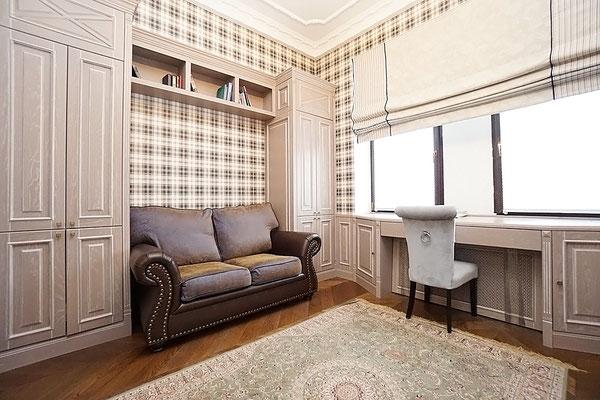 """ID A344 Кутузовский проспект дом 2 - трехкомнатная квартира в аренду, в здании """"Гостиница Украина"""""""