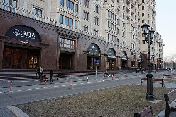 ID OR505 Апартаменты в аренду на длительный срок в шаге от Кремля, Охотный Ряд 2.