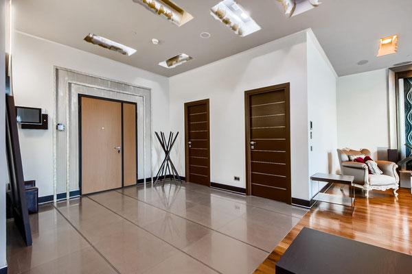 ID F099 Пресненская наб. 12 - трехкомнатный апартамент в аренду.