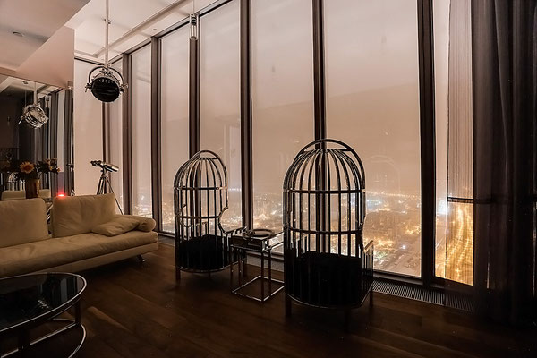 "ID 062 Москва-Сити башня ""ОКО"" - двухкомнатный апартамент в аренду."