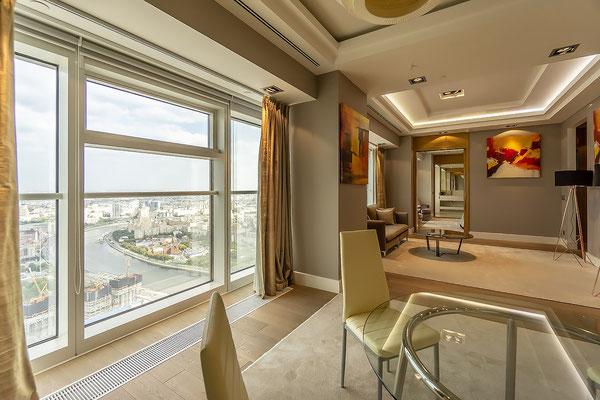 ID M093 Башня Меркурий - двухкомнатный апартамент в аренду на длительный срок.