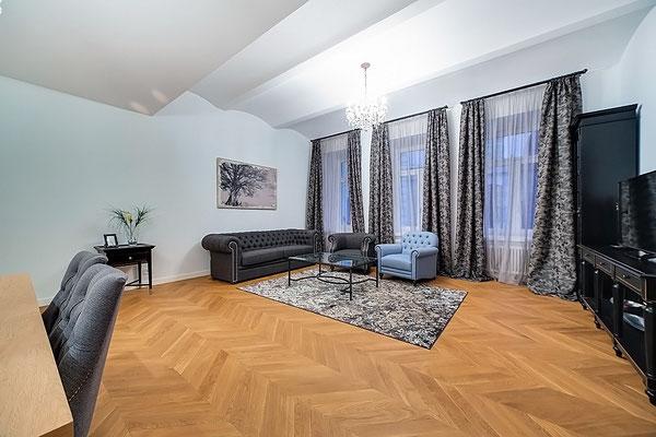 ID 1315 ЖК St. Nickolas (Сант Николас) - трехкомнатные апартаменты на продажу Никольская улица, 10/2с2Б.