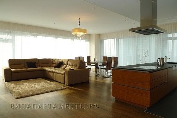 ID 083 Москва-Сити башня Санкт-Петербург трехкомнатные апартаменты в аренду.