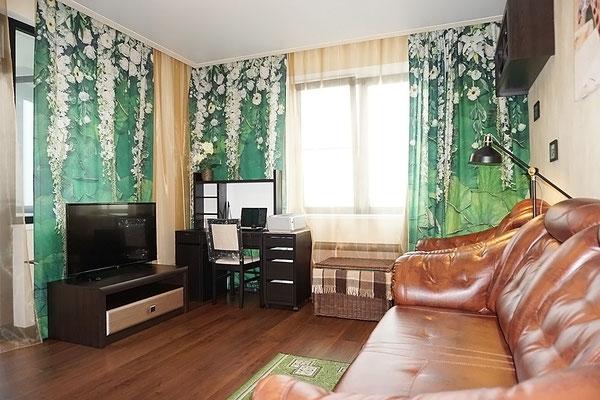 ID A348 Кронштадтский бульвар 6 - трехкомнатная квартира в аренду.