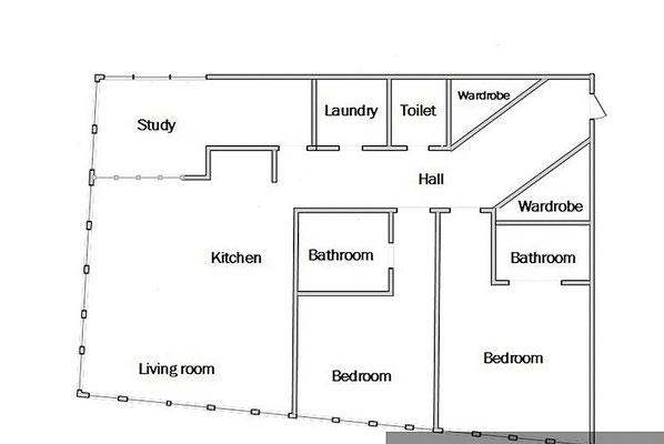 ID 0430 Цветной бульвар 2 - четырехкомнатные апартаменты в аренду.
