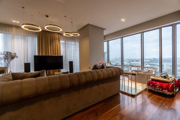 "ID 180 Москва-Сити башня ""ОКО"" - Продажа трёхкомнатного апартамента."