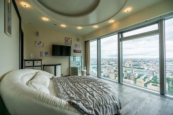 ID 028 Москва-Сити башня Москва - 4х комнатный апартамент в аренду.