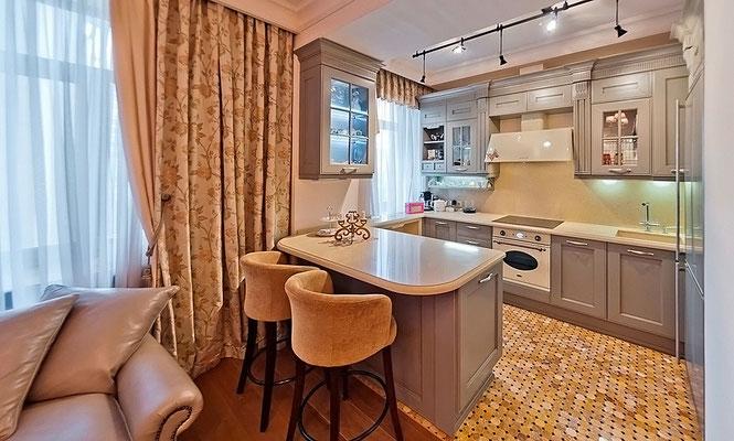 ID 0214 Староконюшенный переулок 19 - двухкомнатная квартира в аренду.