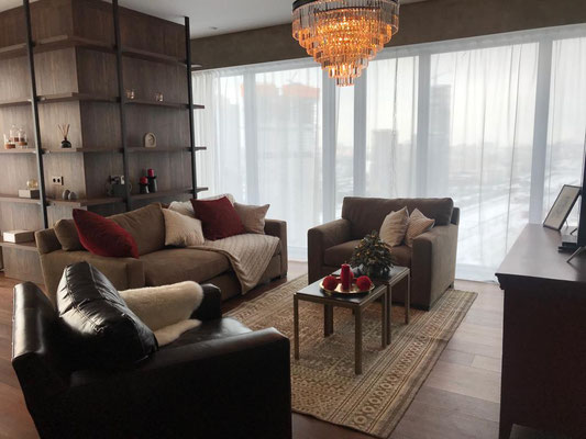 "ID O028 Москва-Сити башня ""ОКО"" - Двухкомнатный апартамент в аренду."