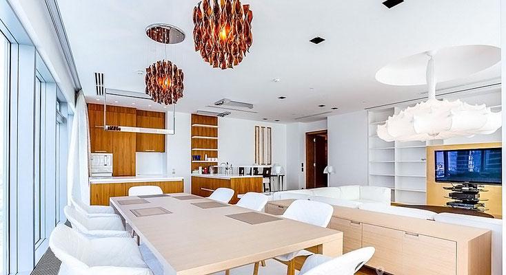 ID 044 ЖК Город Столиц - четырёхкомнатный апартамент в аренду.