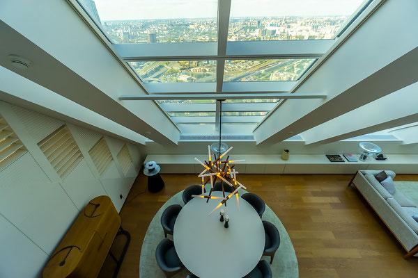 ID M092 Москва Сити Башня Меркурий Пентхаус в аренду на длительный срок.