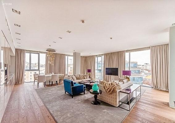 ID A360 Цветной бульвар 2 ЖК Легенды Цветного - трехкомнатные апартаменты в аренду.