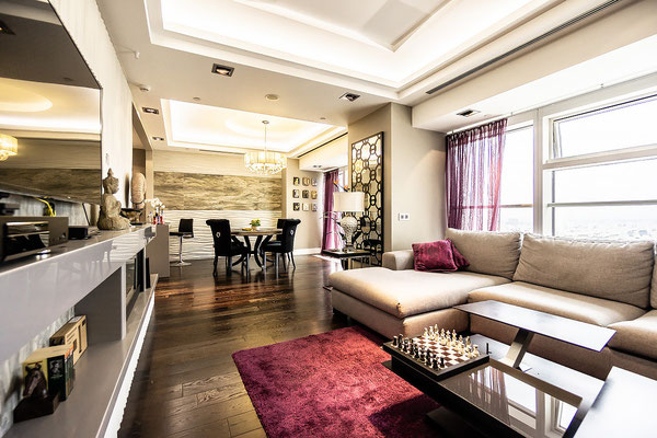 ID M098 1-ый Красногвардейский проезд дом 15, Башня Меркурий - двухкомнатный апартамент в аренду.