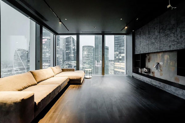 "ID N096 Башня ""Neva Towers"" - 2х комнатный Хай-Тек апартамент в аренду."