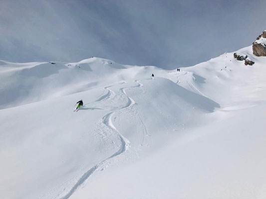 Freeride Arlberg am 01.01.19