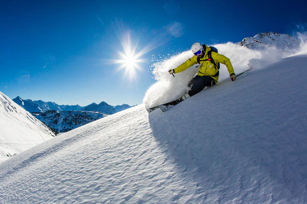 Freeriden im Zillertal - Alpinschule Mountain Sports