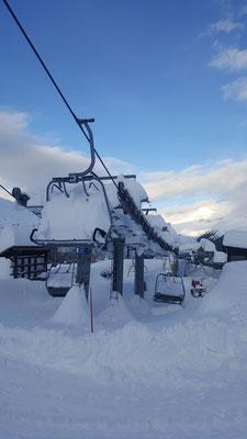 Defereggental Schneebedingungen