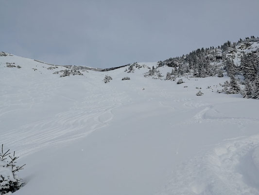 Schneelage Arlberg