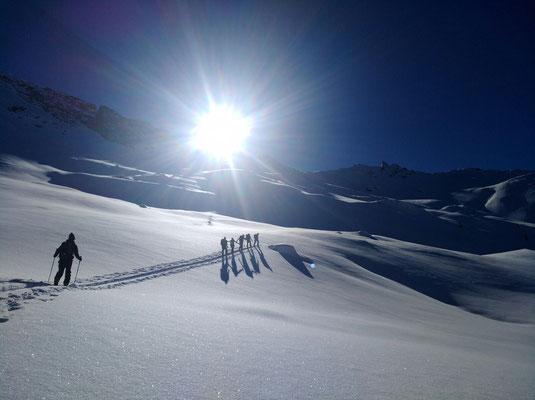 Skitouren mit Alpincenter Gastein (c) Alpincenter Gastein