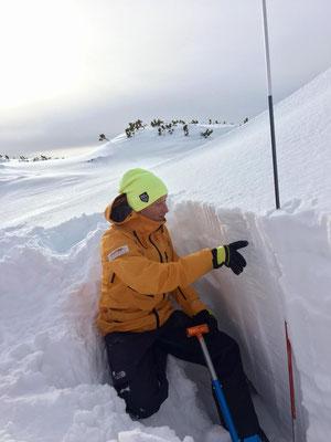 Outdoor Leadership Guides - Schneeprofil