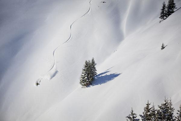Powdern (c) Saalbach-Hinterglemm Leogang Fieberbrunn