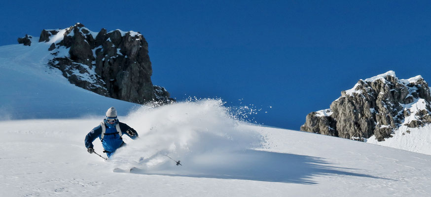 Backcountry Skifahren Arlberg - (c) Whiteguides Skiing