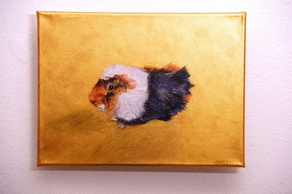 20 x 30 cm- Acryl auf Leinwand - Chip