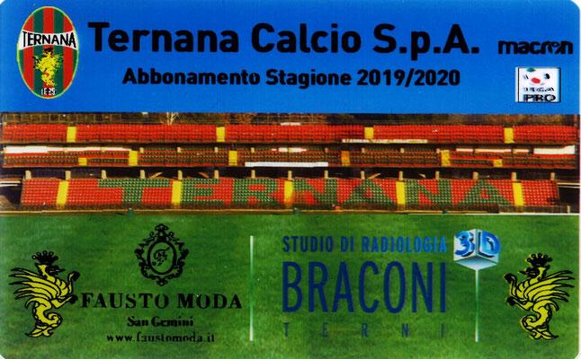 2019-20. Abbonamento (Marco Barcarotti) (lato a)