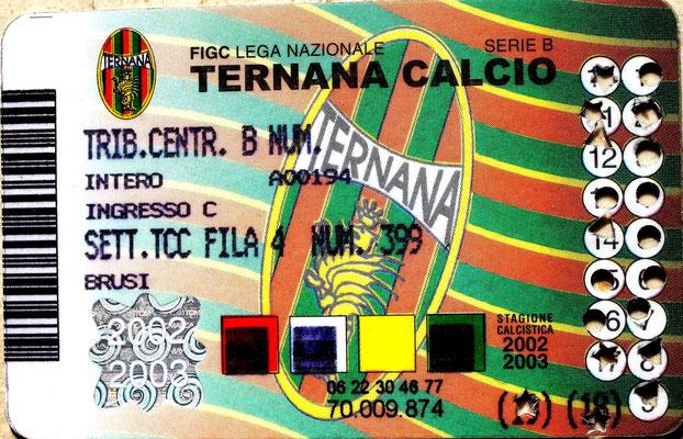 2002-03. Abbonamento (Brusi)