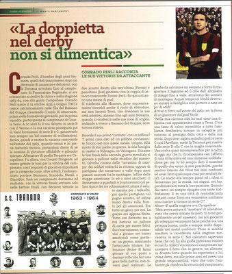 2017-11-26. DAJE MO'! Il mio articolo dedicato a Corrado Perli (Parte 1). La versione integrale dell'intervista si può leggere al seguente link: http://www.ternananews.it/focus/incontro-con-un-ex-rossoverde-corrado-perli-37775