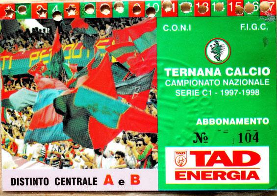 1997-98. Abbonamento (Brusi)