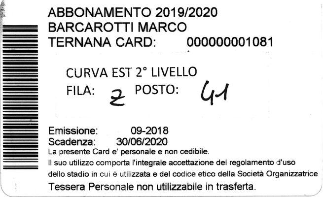 2019-20. Abbonamento (Marco Barcarotti) (lato b)