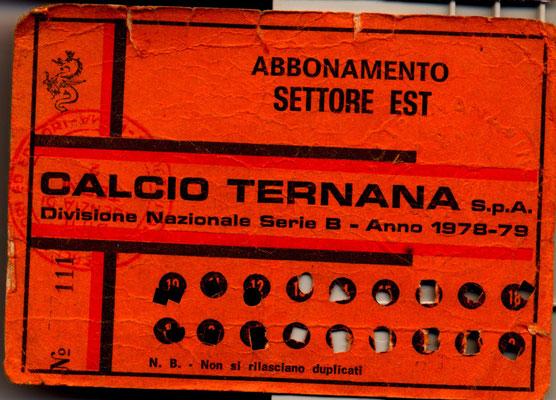 1978-79. Abbonamento (Marco Barcarotti)