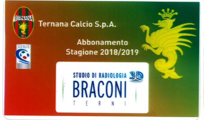 2018-19. Abbonamento (Marco Barcarotti) (lato a)