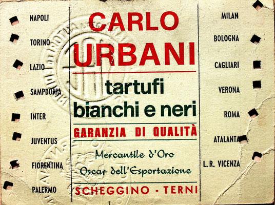 1972-73. Abbonamento (Brusi)
