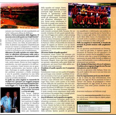 2019-04-28. DAJE MO'! Il mio articolo dedicato a Ernesto Truddaiu (Parte 2). La versione integrale dell'intervista si può leggere al seguente link: http://www.ternananews.it/focus/incontro-con-un-ex-rossoverde-ernesto-truddaiu-47680