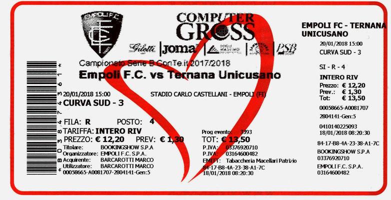 2018-01-20. Empoli-Ternana