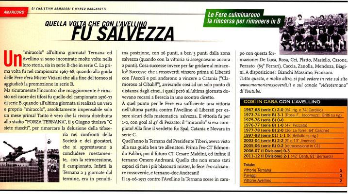 2014-02-08. LA CONCA TERNANA