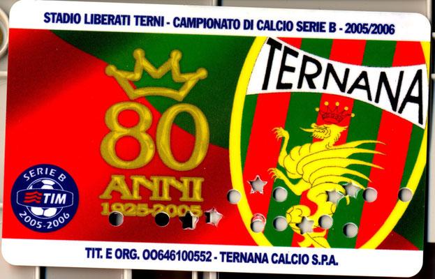 2005-06. Abbonamento (Marco Barcarotti)