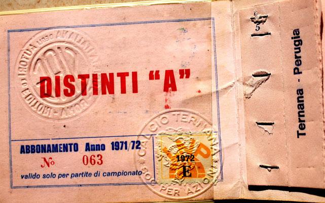 1971-72. Abbonamento (Brusi)