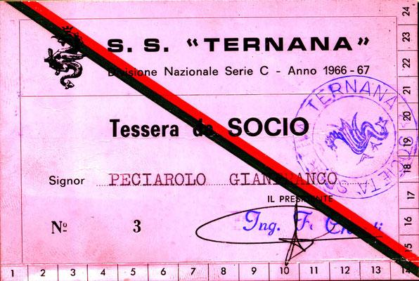 1966-67. Abbonamento (Peciarolo Gianfranco)