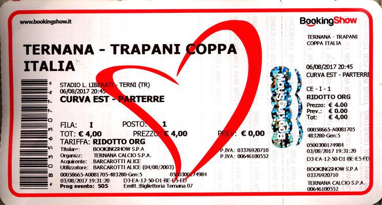 2017-08-06. Ternana-Trapani (Coppa Italia)