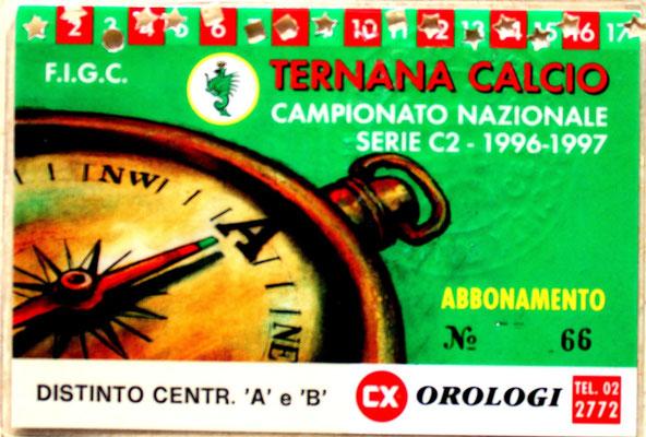 1996-97. Abbonamento (Brusi)