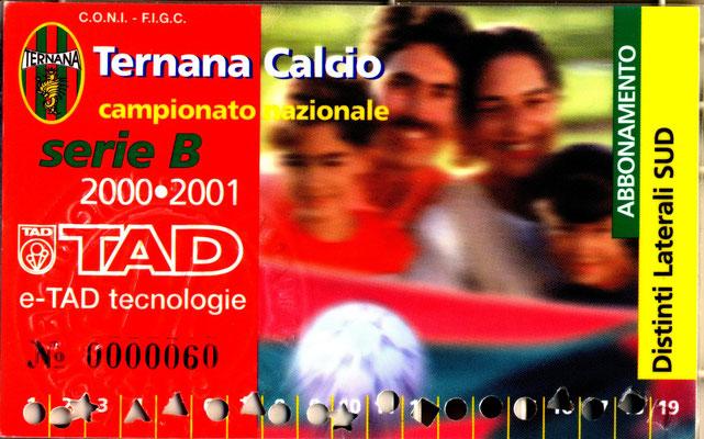 2000-01. Abbonamento (Marco Barcarotti)