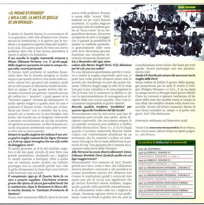 2019-03-17. DAJE MO'! Il mio articolo dedicato a Giancarlo Bellaccini (Parte 2). La versione integrale dell'intervista si può leggere al seguente link: http://www.ternananews.it/focus/incontro-con-un-ex-rossoverde-giancarlo-bellaccini-46952